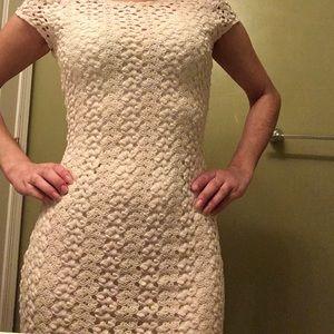 NWOT free people crochet boho chic dress